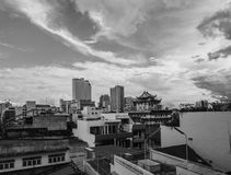 Hatyai City in Thailand. Hatyai City at Songklha Province of Thailand stock photography
