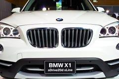 HATYAI-, 10. SEPTEMBER: Front von BMW auf Anzeige bei BMW XPO 2013 Lizenzfreies Stockbild