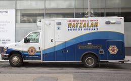 Hatzolah volunteer ambulance in midtown Manhattan Stock Photography