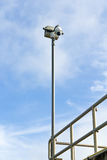 Haube CCTV-Kamera Lizenzfreies Stockfoto