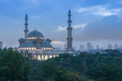 Haube der islamischen Moschee Stockbild