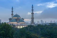 Haube der islamischen Moschee Stockfoto