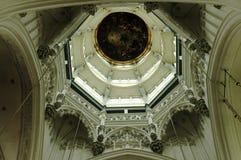 Haube in der Kathedrale von Antwerpen Lizenzfreie Stockbilder