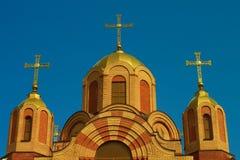 Haube der Kirche Stockfotos