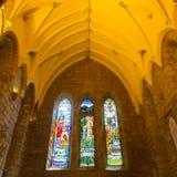 Haube der kleinen schottischen Kathedrale Stockfoto