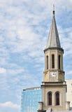 Haube der lutherischen Kirche Lizenzfreie Stockfotos