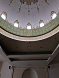 Haube in der Moschee Masjid Lizenzfreies Stockfoto