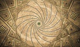 Haube der Moschee, orientalische Verzierungen, Isfahan lizenzfreie stockbilder