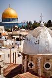 Haube des Felsens Jerusalem Stockfotos