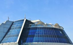 Haube des Hightech- Artgebäudes Lizenzfreie Stockbilder