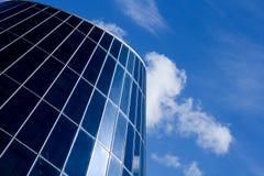Haube mit Glasfenstern Lizenzfreie Stockfotografie