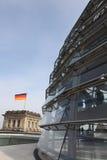 Haube oben auf das Reichstag Lizenzfreie Stockbilder
