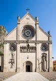 Haube Santa Maria Assunta in Gemona lizenzfreie stockfotos
