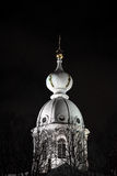 haube Smolny Kathedrale Lizenzfreie Stockfotografie