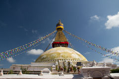 Haube stupa stockfoto