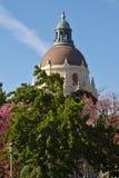 Haube und Laterne von PasadenaRathaus Stockbilder