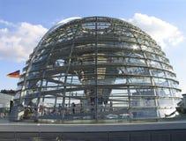 Haube von deutschem Reichstag lizenzfreies stockbild