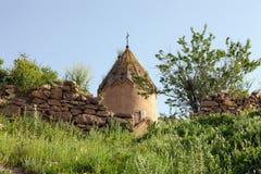 Haube von Kirche Surb Karapet Stockfoto