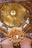 Hauben-alte Basilika Guadalupe Mexiko City Mexiko Lizenzfreie Stockfotos