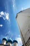 Hauben der Ankündigungs-Kathedrale in Gorokhovets Vladimir Region Lizenzfreie Stockbilder