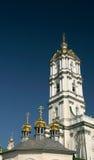 Hauben der Kirchen. lizenzfreie stockbilder