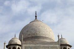 Hauben von Taj Mahal Stockbilder