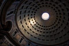 Haubendecke des Pantheons Lizenzfreies Stockbild