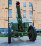 122 haubits M1938 (M-30) för mm Royaltyfri Bild