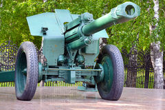 haubitsmodell för mm 152 av 1943 Royaltyfri Bild