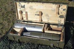 Haubitzemunition Lizenzfreie Stockbilder