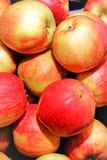 Haufen der Äpfel Lizenzfreie Stockfotos