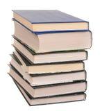 Haufen der Bücher Stockfoto