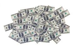 Haufen der Dollar Lizenzfreies Stockfoto