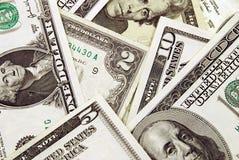 Haufen der Dollar Stockbild