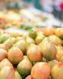 Haufen der frischen Tomaten Stockbild
