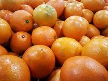 Haufen der Orangenfrucht Lizenzfreies Stockfoto
