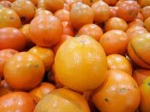Haufen der Orangenfrucht Lizenzfreies Stockbild