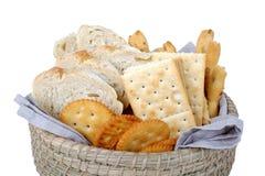 Haufen der verschiedenen Brote Stockbild