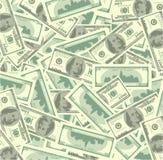 Haufen des Geldes Stockfotos