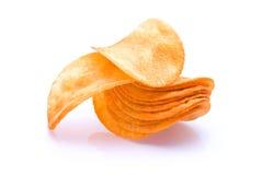 Haufen von Kartoffelchips Lizenzfreie Stockfotografie