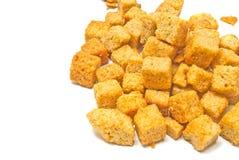 Haufen von wohlschmeckenden Crackern lizenzfreie stockfotografie