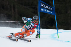HAUGEN Leif Kristian(NOR). Alta Badia, ITALY 22 HAUGEN Leif Kristian (NOR) competing in the Audi FIS Alpine Skiing World Cup MEN'S GIANT SLALOM Stock Image
