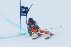 HAUGEN Leif Kristian (NOR). Alta Badia, ITALY 22 December 2013. HAUGEN Leif Kristian (NOR) competing in the Audi FIS Alpine Skiing World Cup MEN'S GIANT SLALOM Royalty Free Stock Photography