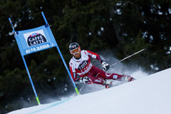 HAUGEN Leif Kristian in Audi Fis Alpine Skiing World-Kop Men's Stock Afbeeldingen