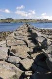 Haugesund em Noruega Fotografia de Stock Royalty Free