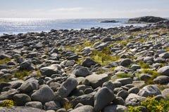 Haugesund in Norway. Sea and coast to Haugesund in Norway Royalty Free Stock Photo