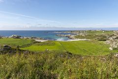 Haugesund in Norway. Sea and coast to Haugesund in Norway Stock Photography