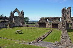 Haughmond Abbey view Royalty Free Stock Photo