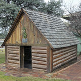 A Haught Cabin at the Rim Country Museum Royalty Free Stock Photography