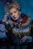 Haughty queen Stock Photos